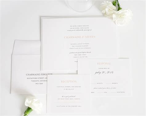 Elegante Hochzeitseinladungen by Wedding Invitations In Wedding Invitations