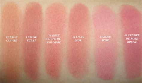 New Blush Pastel Dor bourjois pot blushes swatches glam radar