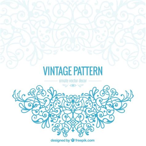 vector pattern free commercial use vintage ornate vector free download
