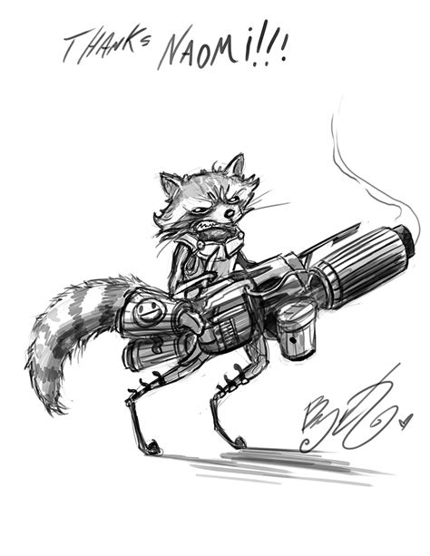 doodle rocket doodle rocket raccoon by bunnybennett on deviantart