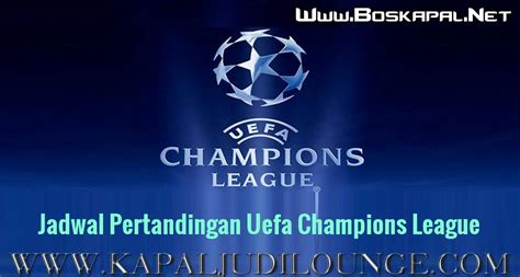 jadwal pertandingan uefa champions league