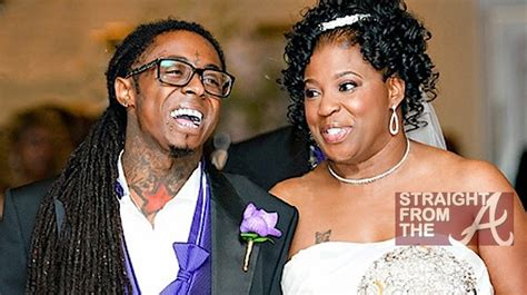 lil wayne mother cita wedding