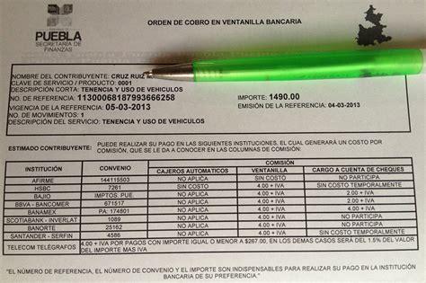 formato gratuito tenencia formato gratuito de pago de tenencia estado de mexico 2015