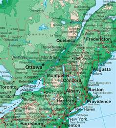 Usa Northeast Map by Northeast Map Regional City Maps Of The United States
