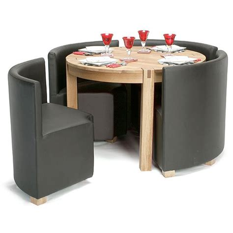 Space Saver Dining Set Table Four Chairs Viscount Space Saver Set Dining Table Sets Kitchen Tables Table And Chairs And