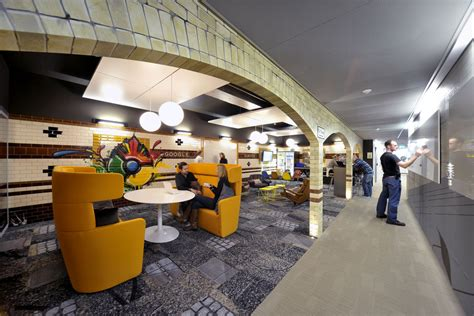 google z rich office slide to the canteen youtube a look inside google s zurich office prepare to hate your