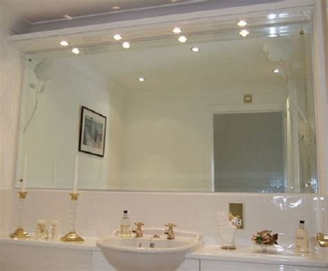 mirror wall in bathroom importance of decorative bathroom mirrors contemporary