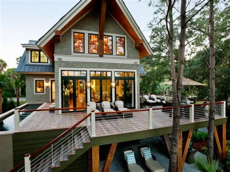 exterior design and decks patio decorating ideas deck designs hgtv