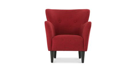 armchair red happy picasso red armchair lounge chairs article