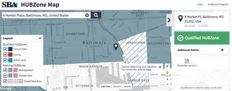 sba hubzone map fearless just made big changes to this map that helps