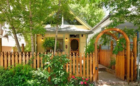 tiny house rental colorado springs 550 sq ft restored historic cottage