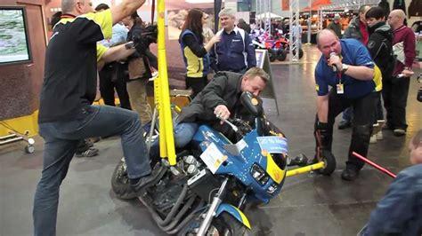 Motorrad Messe Leipzig by Motorrad Messe Leipzig 2012 Adac Fahrsicherheitszentrum