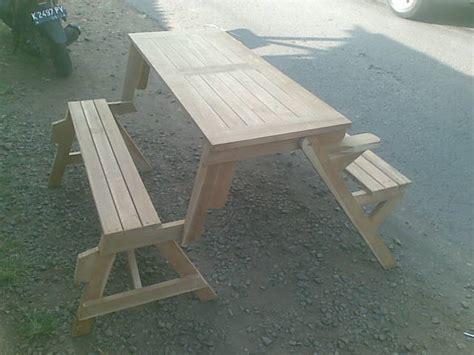 Kursi Lipat Pantai jual meja kursi taman lipat folding garden table set tirta jati furniture