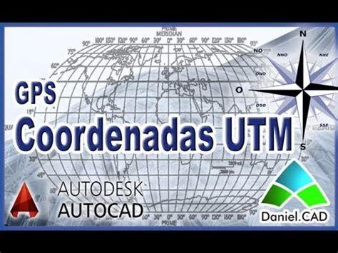 tutorial coordenadas utm 14 16 sw cad videolike