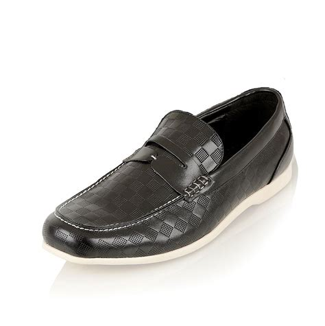 stylish mens loafers mens stylish pu leather loafers moccasins casual slip on