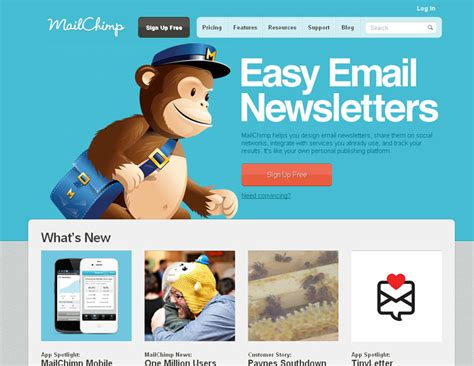 Mail Chimp S Day Card Template by Mailchimp Volusion Email Marketing Partner