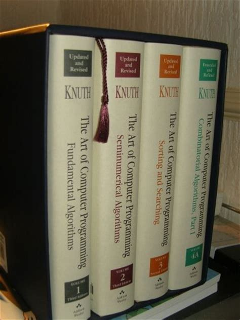 art of computer programming knuth what books should every programmer read book