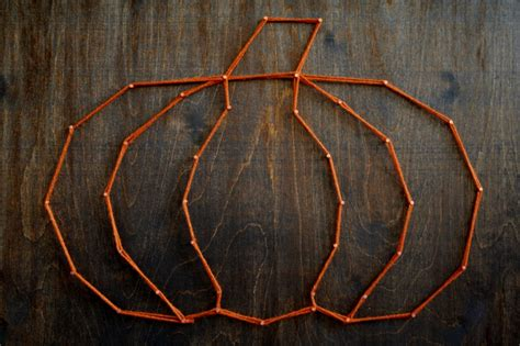 Easy String - harvest string an easy fall craft project had to