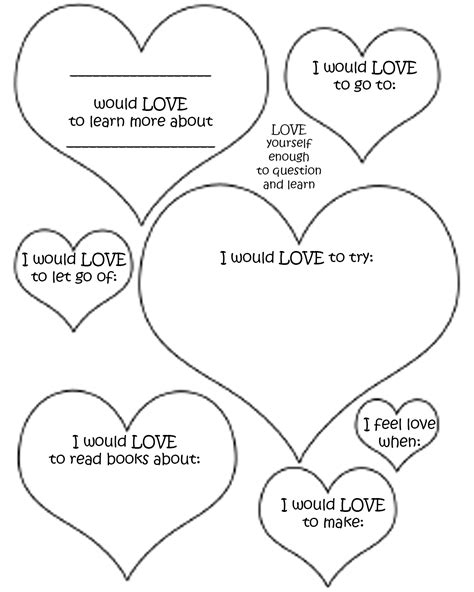 self love coloring pages learning to be a healthier me
