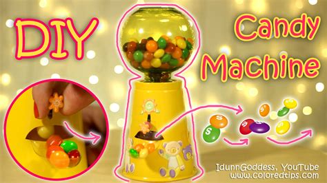 How To Make A Paper Gumball Machine - diy functional gumball machine or machine how to