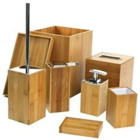 wooden bathroom accessory sets 1000 ideas about bamboo bathroom on bamboo