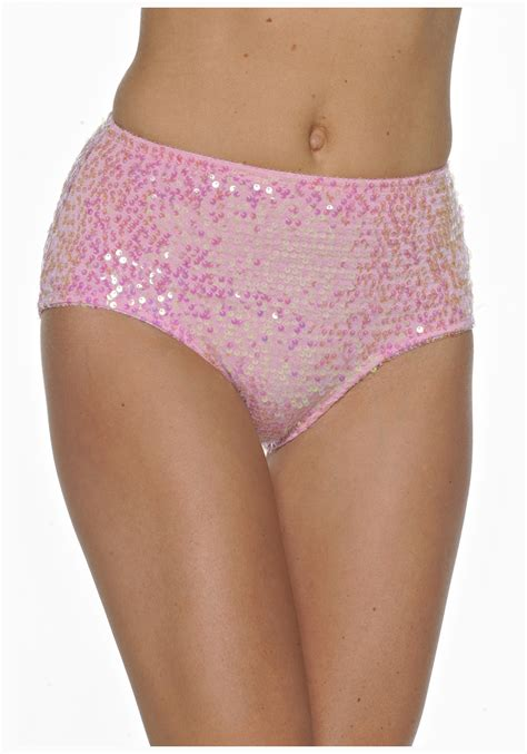 pink sequin panty