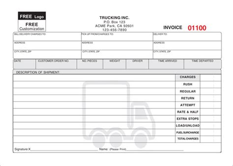 delivery receipt template delivery receipt template 15 free sle exle