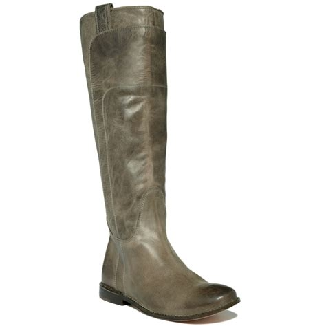 grey boots frye boots in green grey lyst