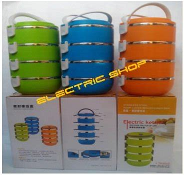 jual beli jual lunch box 4 susun high quality stainless