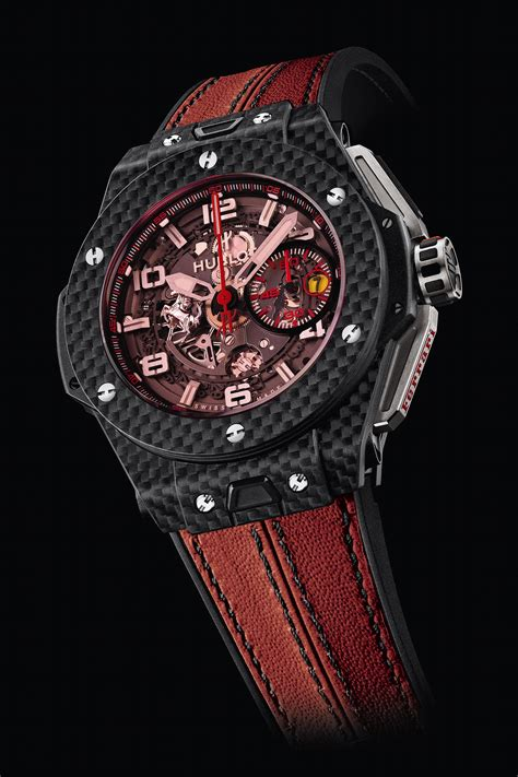 Hublot Ferrari by Hublot Novelties At Geneva Fair 2013 With The Bangs The