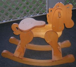 Wooden Rocking Horse Plans Free