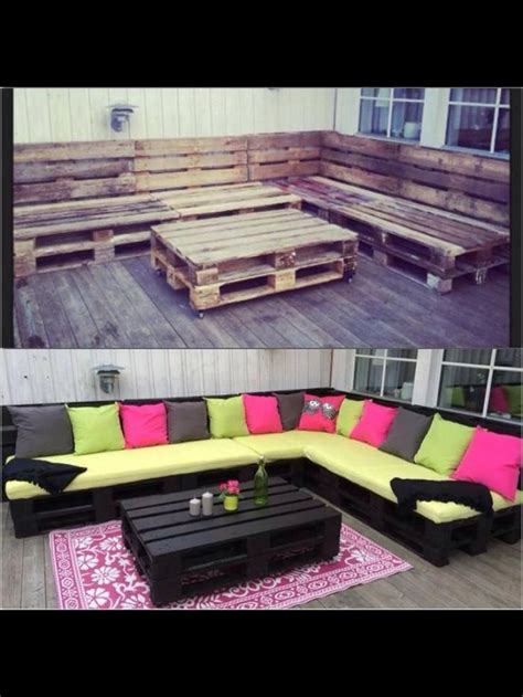 Pallet Patio Furniture Home Stuff Pinterest Patio Pallet Furniture