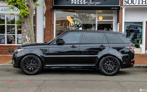 2019 Land Rover Svr by Land Rover Range Rover Sport Svr 13 Januari 2019