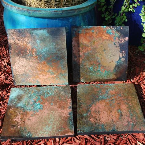 copper wall custom made copper patina wall art various houses