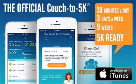 couch potato to 5k in 6 weeks c25k couch to 5k