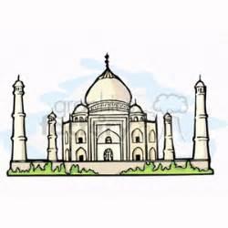 royalty free taj mahal 164434 vector clip art image wmf