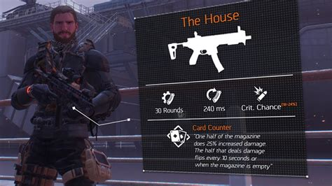 Section Viii Division 1 by The Division 1 8 The House Weapon Guide