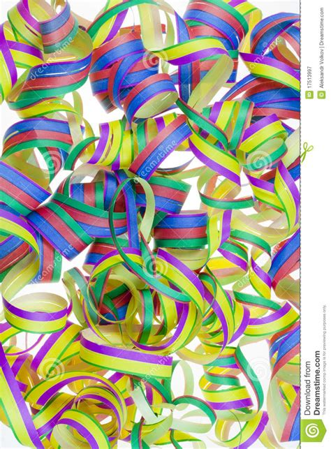 new years streamers paper new year s streamers stock image image of objects