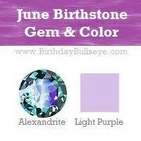 what color birthstone is june june birthstone color light purple coordinating with it
