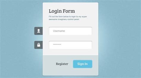 login form layout html 10 beautiful css html login forms