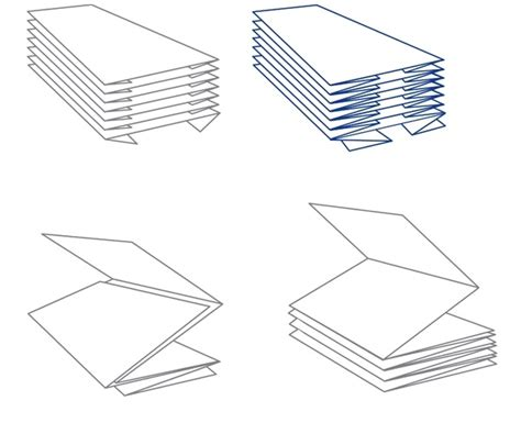 Types Of Paper Folds - types of towel folds
