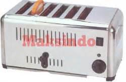 Est6 6 Slot Toaster Alat Untuk Memanggang Roti Bakar mesin slot toaster archives alat mesin roti maksindo