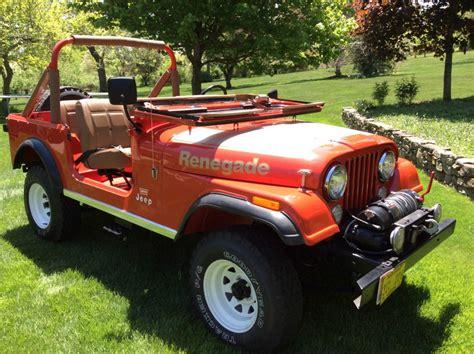 jeep cj renegade for sale 1978 jeep cj 7 jeep renegade for sale