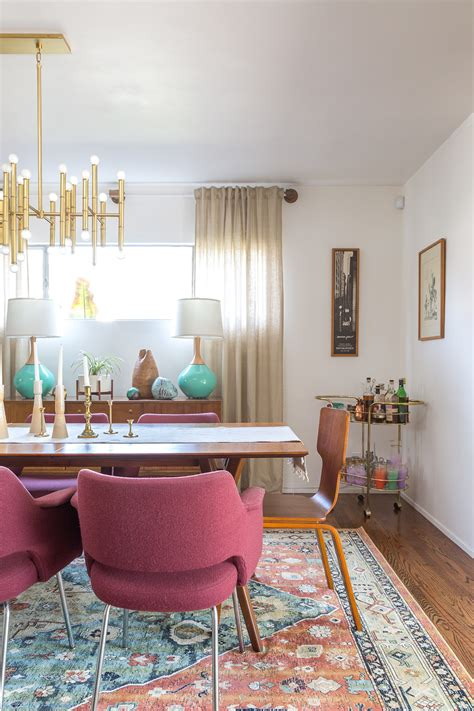 vintage modern dining room a vintage splendor mid century modern dining room reveal