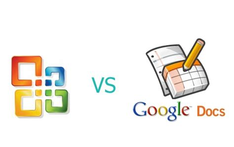 goog edocs office vs docs spreadsheet vs excel pros and cons tech livewire