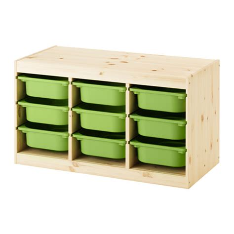 ikea toy storage trofast storage combination with boxes light white