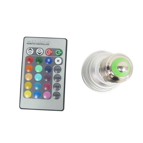Magic Lighting Led Light Bulb And Remote With 16 Different Magic Lighting Led Light Bulb And Remote