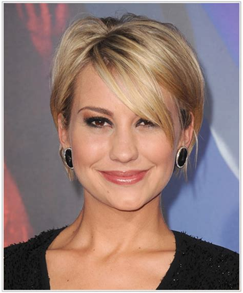 hairstyles for women over 60 with heart shape face pin chelsea kane sleek layered bob with side swept bangs