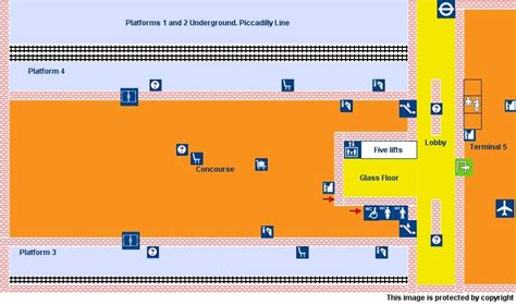 terminal 5 floor plan national rail enquiries