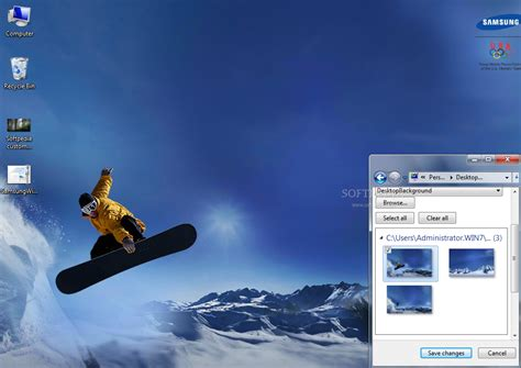 themes for windows 7 samsung samsung winter sports theme download